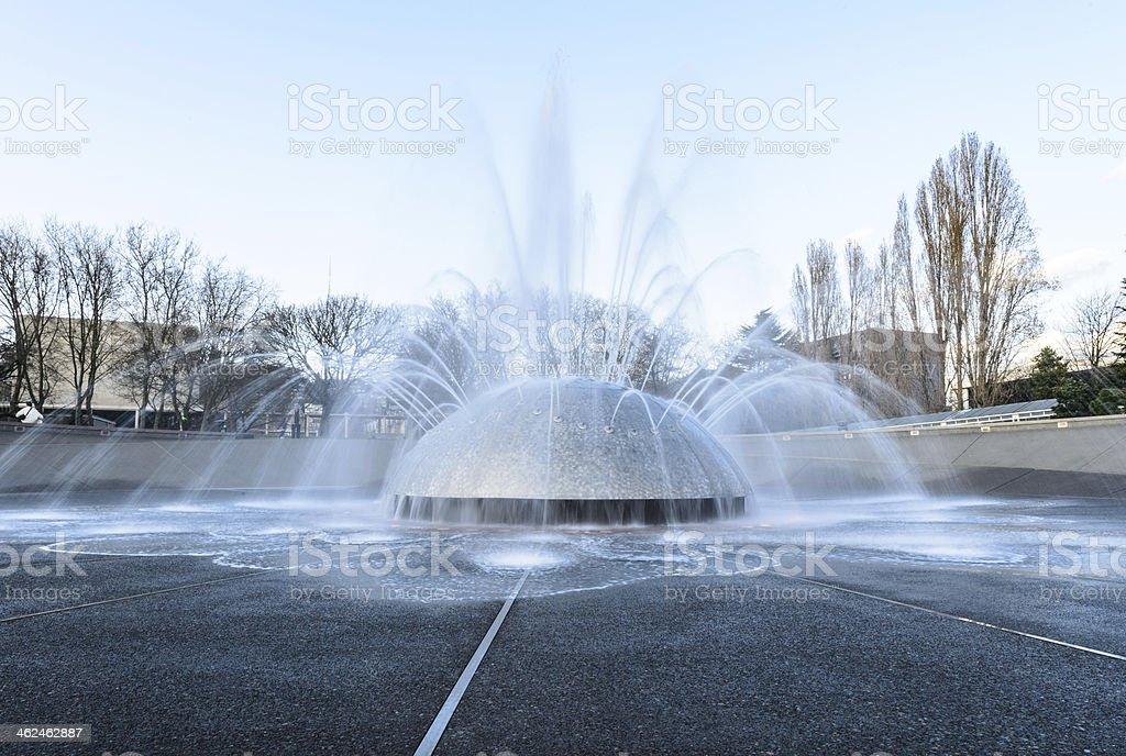 park fountain royalty-free stock photo