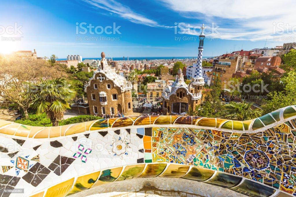 Park Güell in Barcelona – Foto