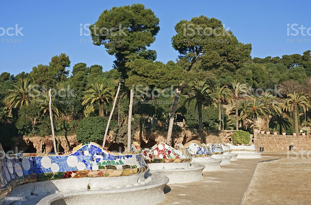 Park Guell, Barcelona royalty-free stock photo