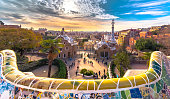 istock Park Guell in Barcelona 547513994