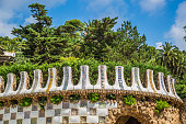 istock Park Guell in Barcelona, Spain. 638591660
