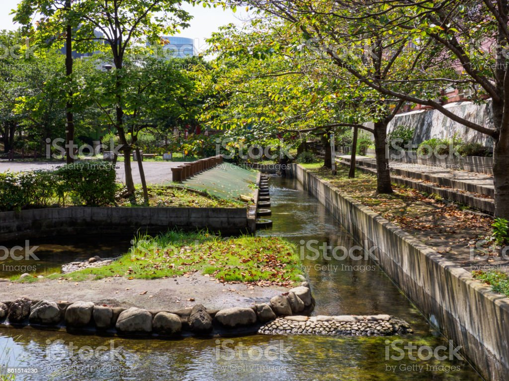 Park in Japan stock photo