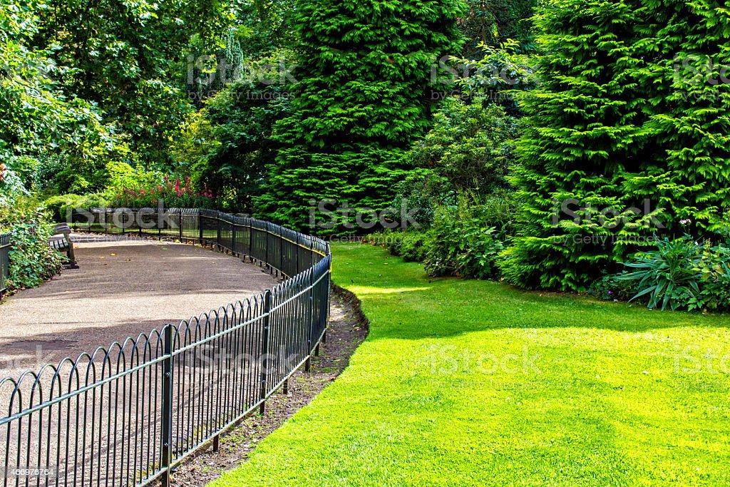 Park in London stock photo