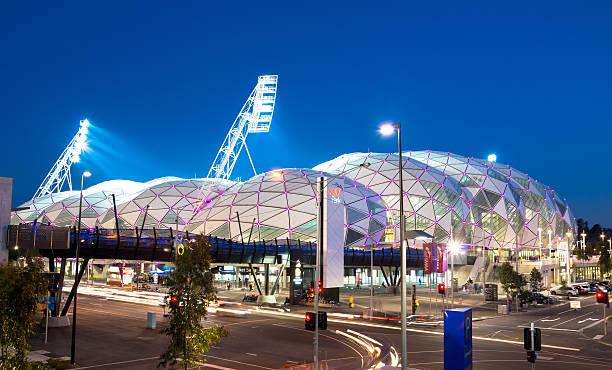 AAMI Park in Melbourne Australia stock photo