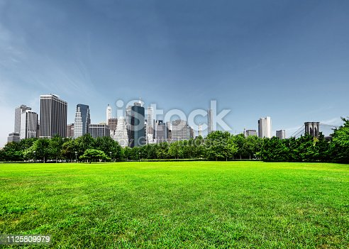 istock Park in New York 1125809979