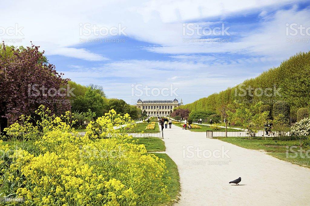 Park in Paris stock photo