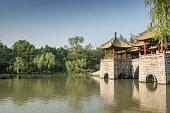Park in Yangzhou city