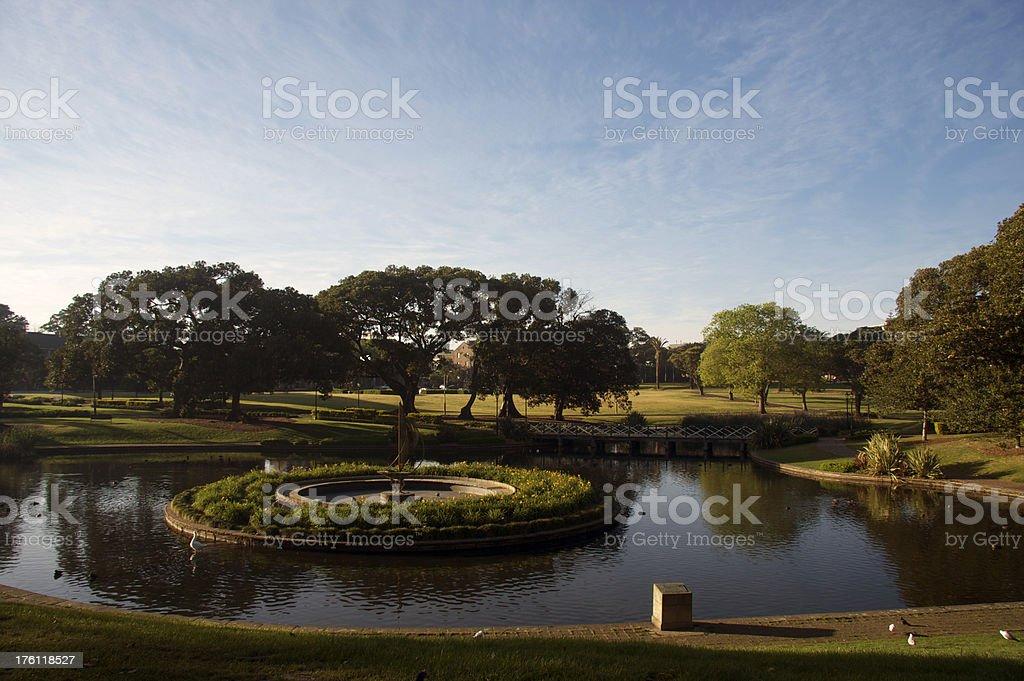 Park Life in Sydney stock photo