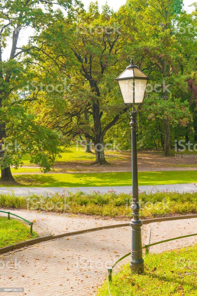 Park Maksimir in Croatia stock photo