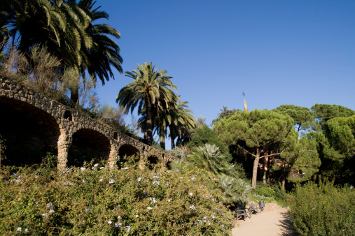 Park of Guell in Barcelona