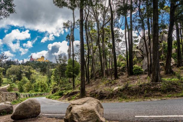 Park des nationalen Palast von Pena in Sintra – Foto