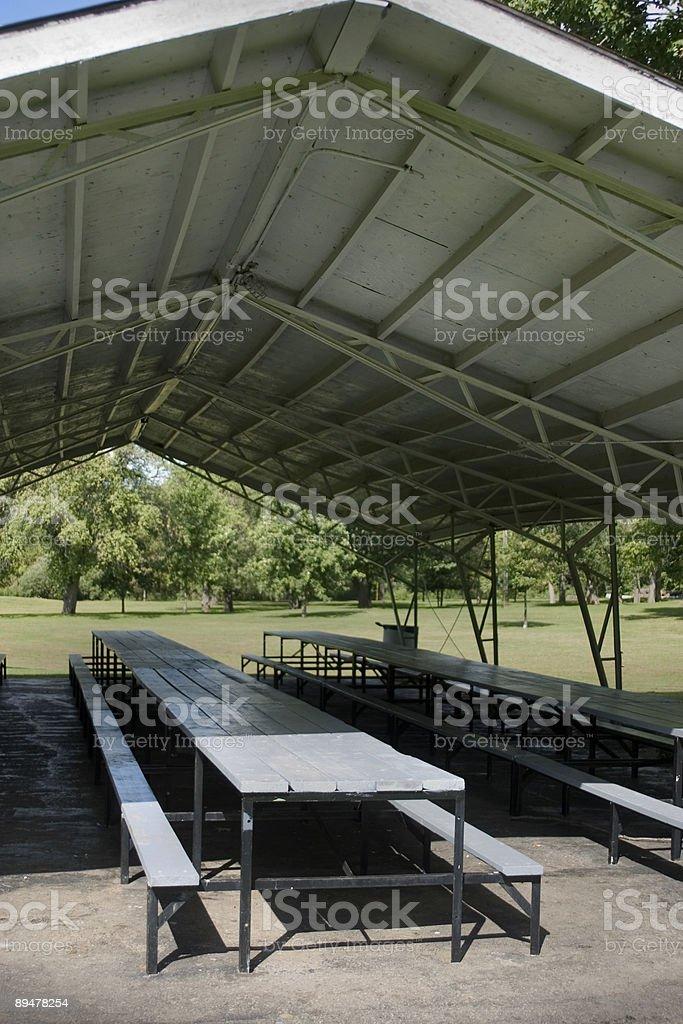Park Pavillion royalty-free stock photo