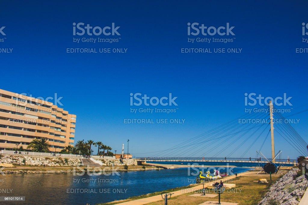 Parkplätze. - Lizenzfrei Andalusien Stock-Foto