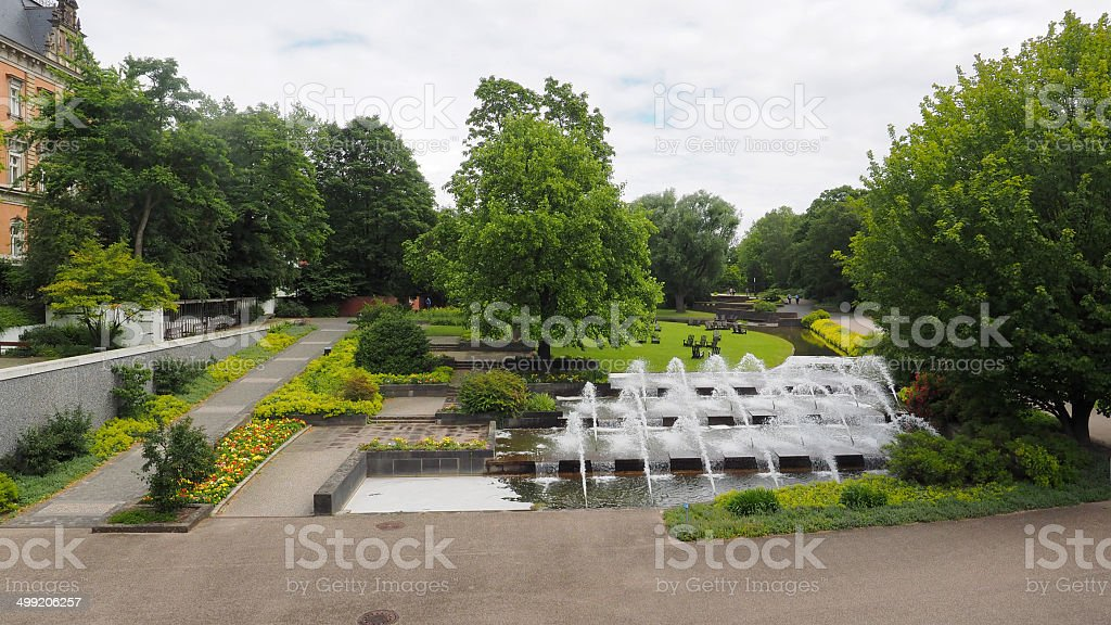 Park planten un Blomen stock photo