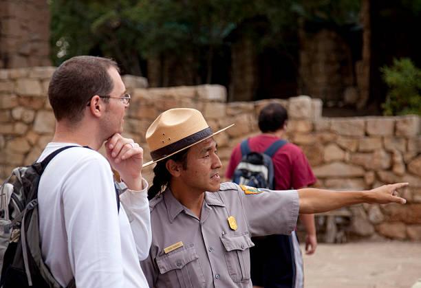 Park ranger at the North Rim Grand Canyon