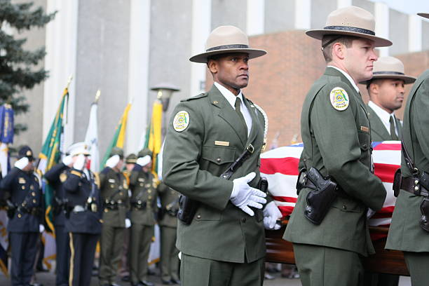 U.S. Park Ranger Memorial stock photo
