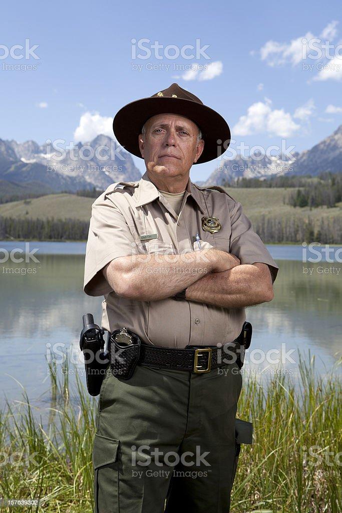 Park Ranger stock photo