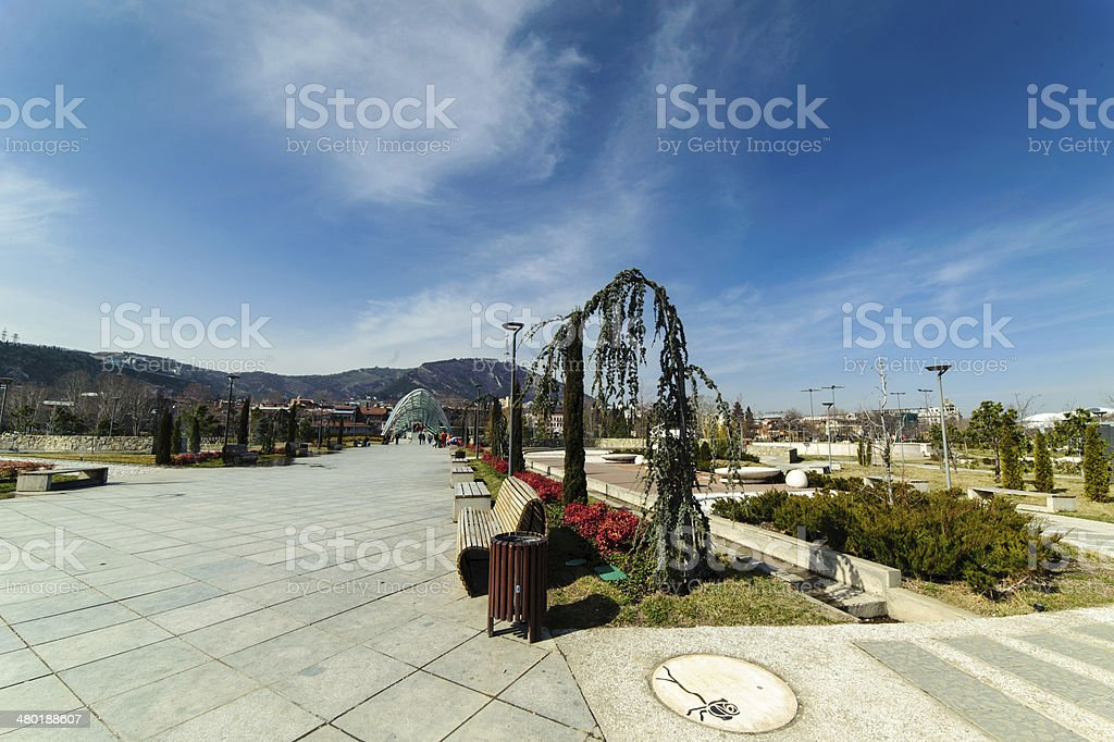 Park Rike, Tbilisi royalty-free stock photo