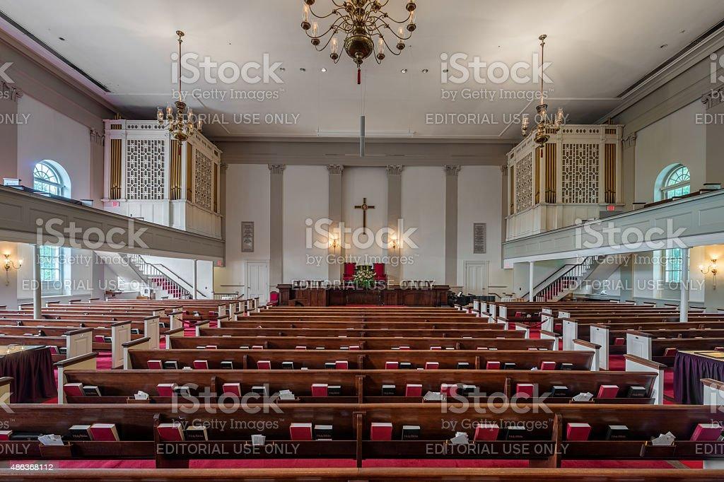 Park Street Church stock photo