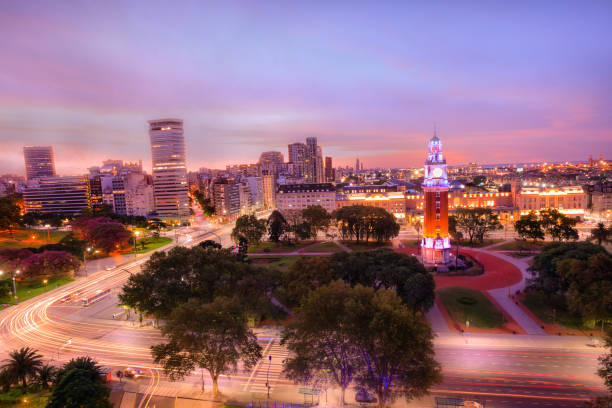 Park Tower in Buenos Aires stock photo