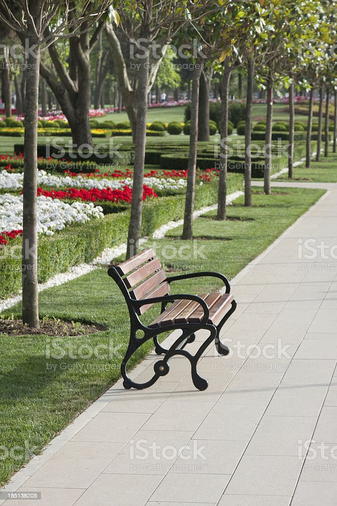 Park view detail royalty-free stock photo