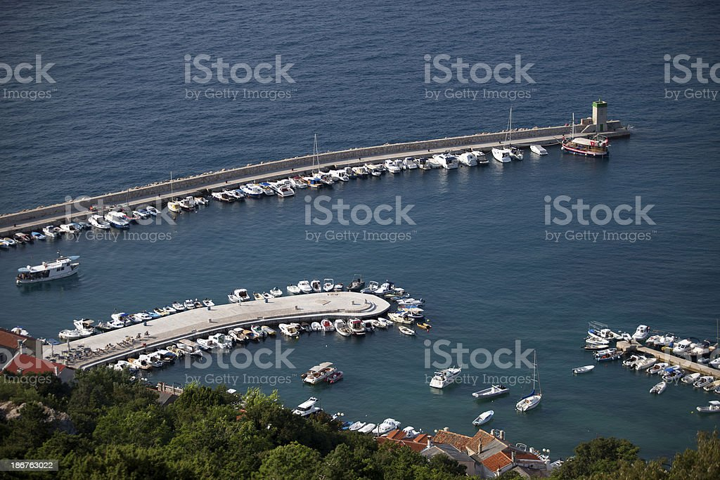 Park your boats royalty-free stock photo