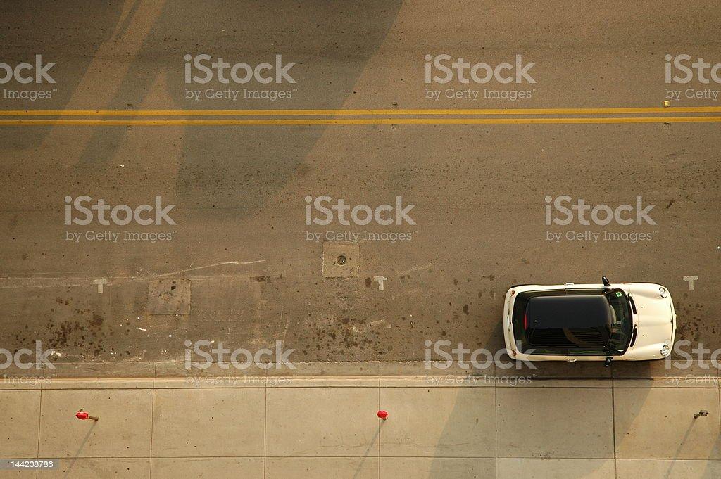 Parked Mini stock photo