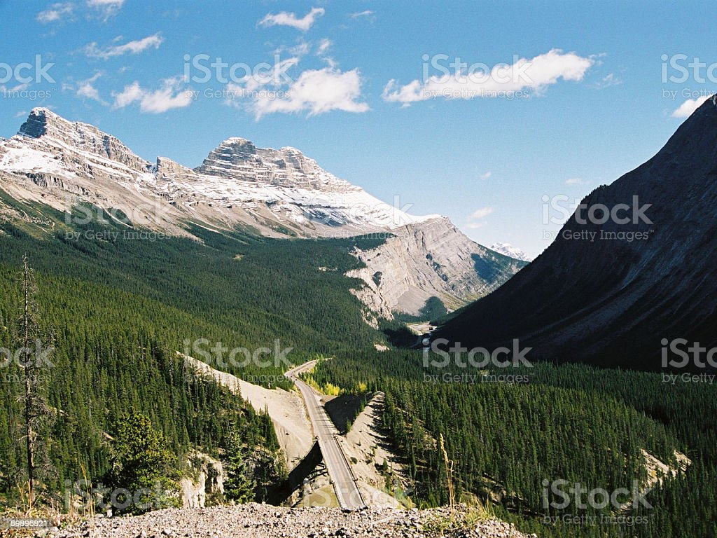 Parker Ridge Alberta Lizenzfreies stock-foto