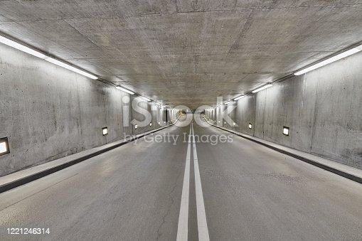 1145626150 istock photo Parking area under buildings 1221246314