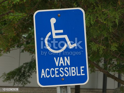 466456685 istock photo Parking for disabled or wheelchair 1010292528
