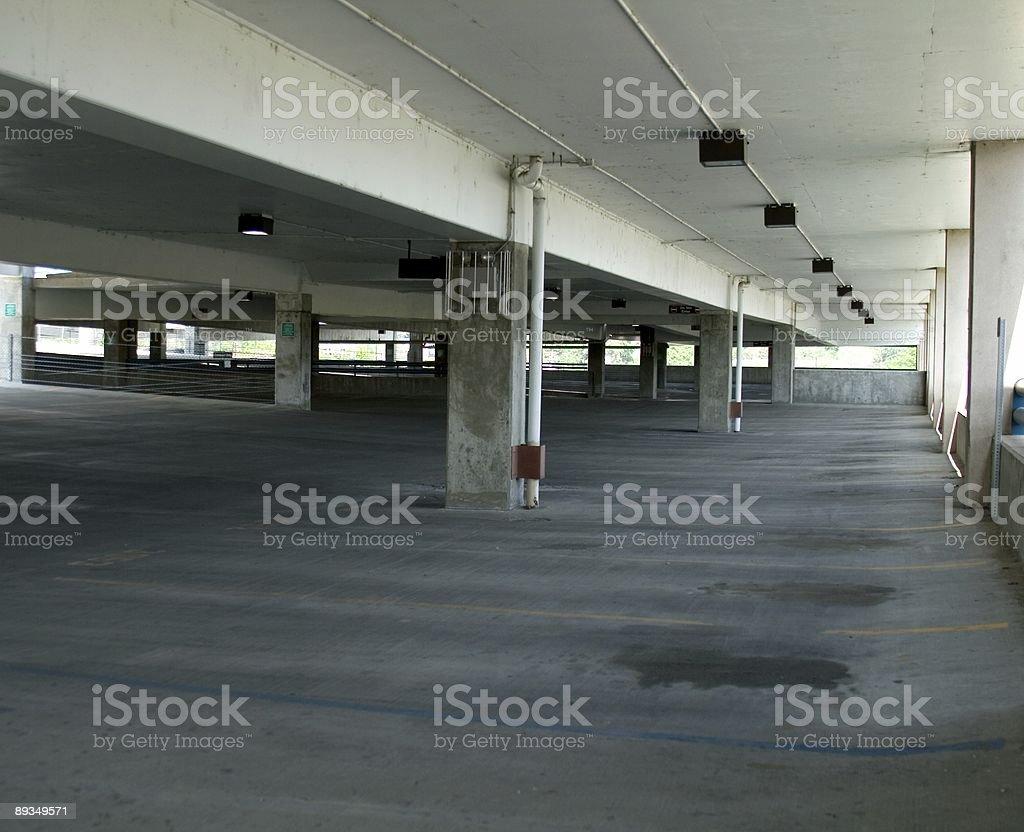 Parking Garage 1 royalty-free stock photo