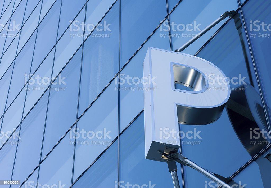 Parking Garage Building Exterior royalty-free stock photo