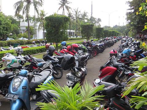 Parkeringsplats I Jakarta-foton och fler bilder på Dag