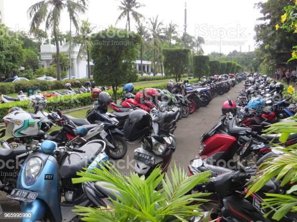 Parkplatz In Jakarta Stockfoto und mehr Bilder von Fotografie