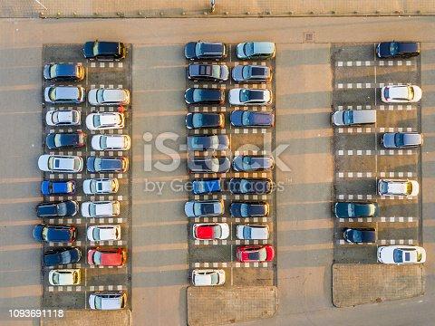 istock Parking lot 1093691118