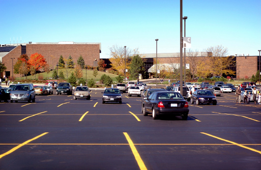 Parking Lot Stock Photo - Download Image Now