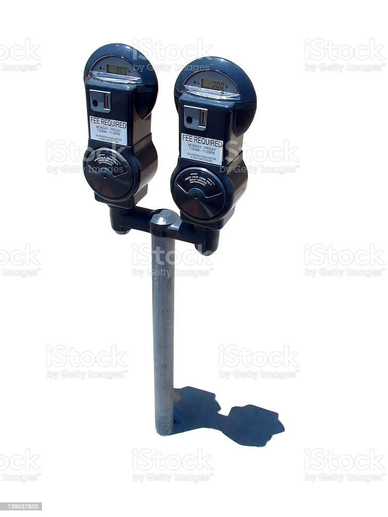parking meter royalty-free stock photo