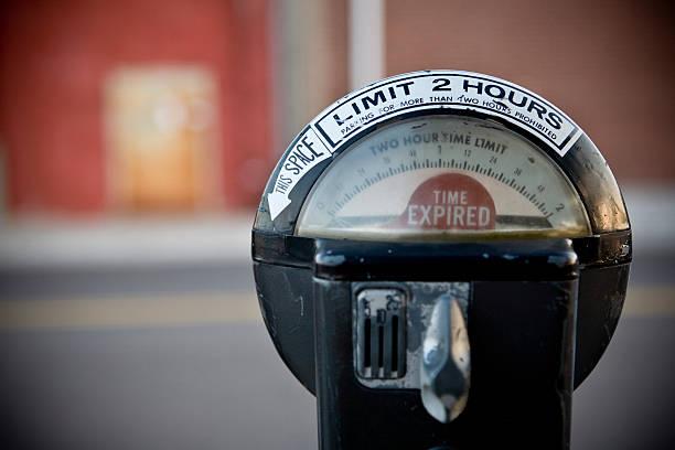 Parking Meter Urban stock photo