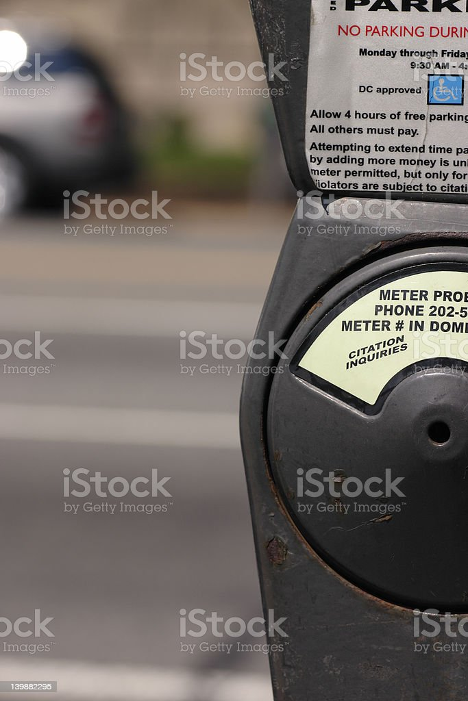 parking parts royalty-free stock photo