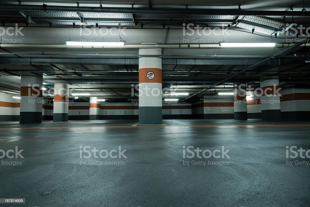 Parking royalty-free stock photo
