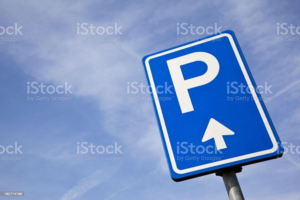 Parking sign # 4 XXXL royalty-free stock photo
