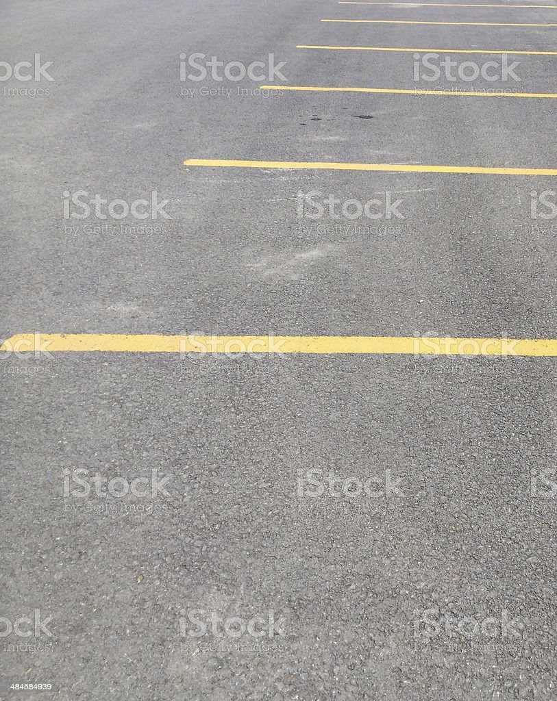 parking space stock photo