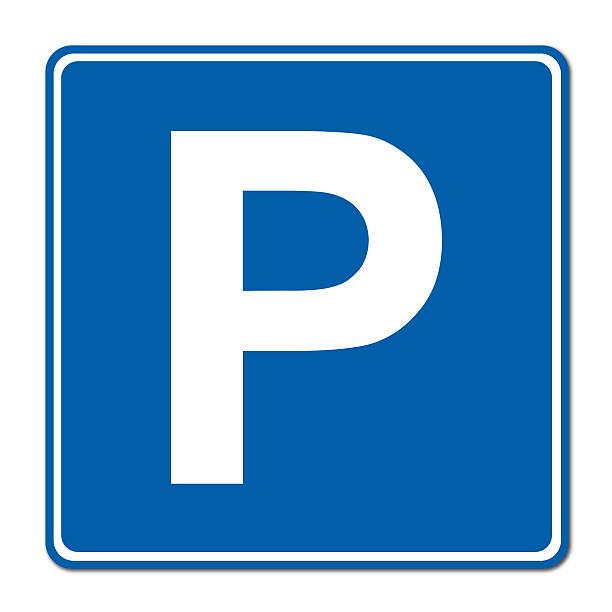 Parken Verkehr sign – Foto