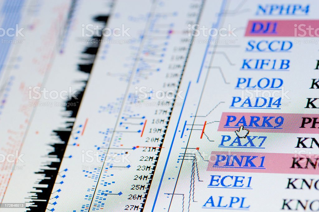 Parkinson Disease stock photo