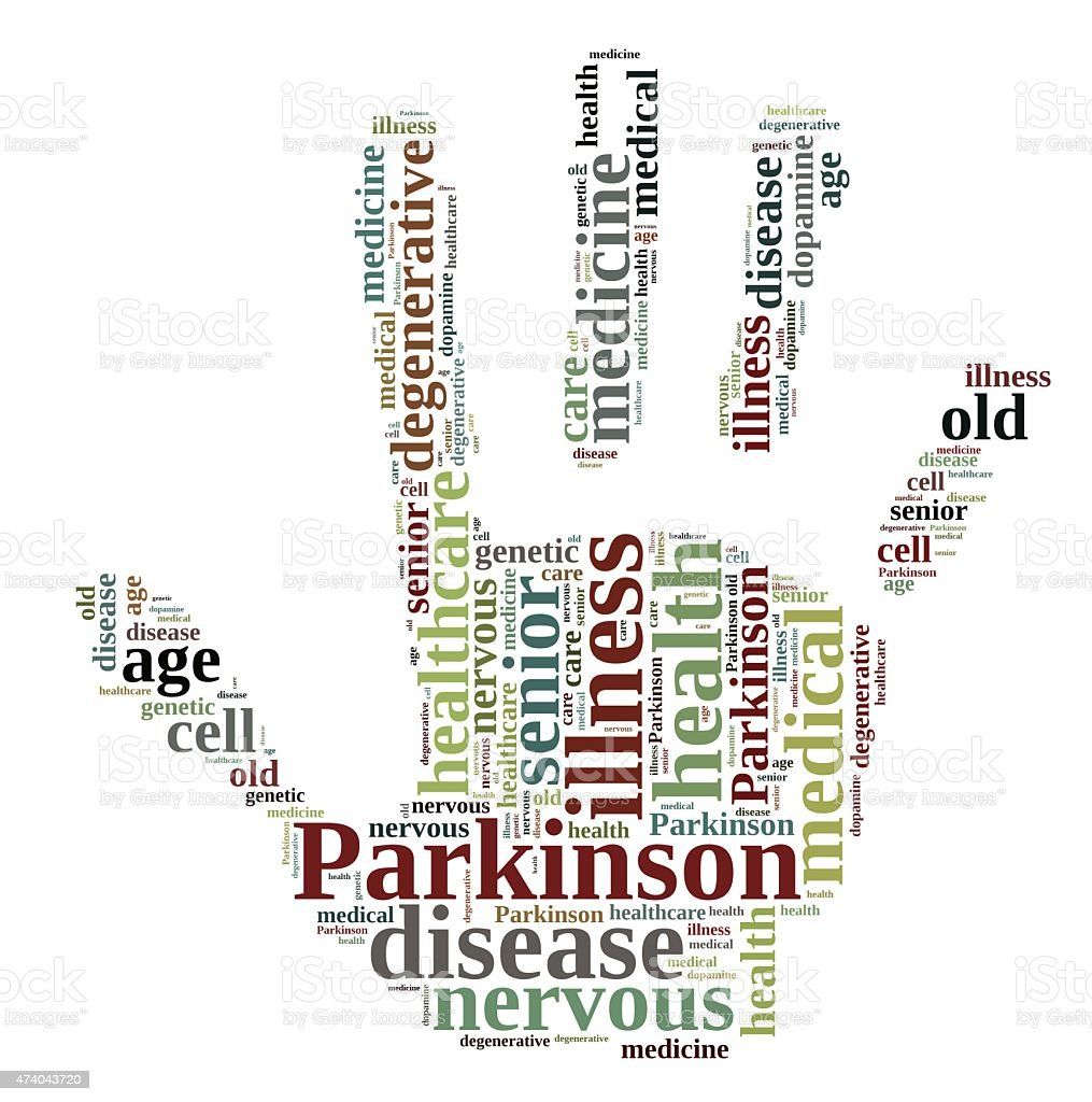 Parkinson. stock photo