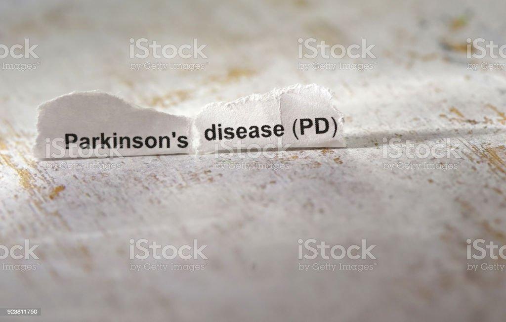 parkinson's disease stock photo