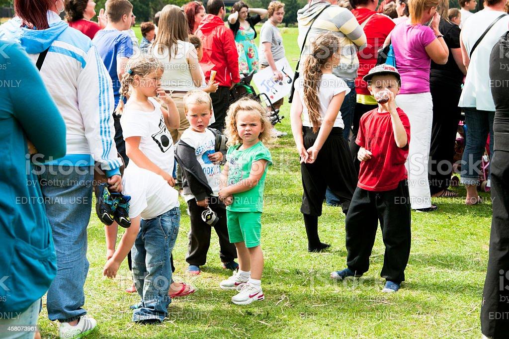 Parklife Festival royalty-free stock photo