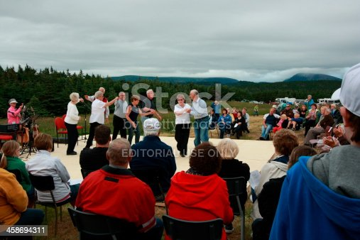 458694311 istock photo Parks Canada Shed Party Dance 458694311