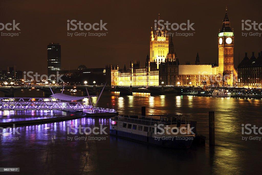 Parliament at night royalty-free stock photo
