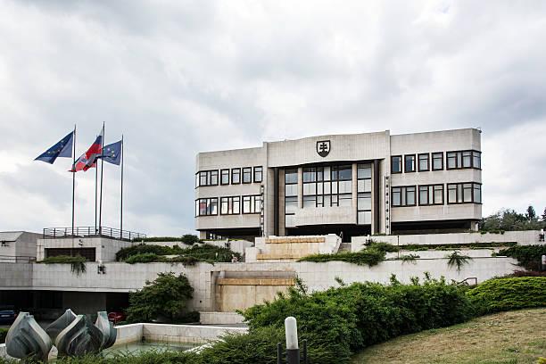 Parlamentsgebäude in Bratislava, Slowakei – Foto